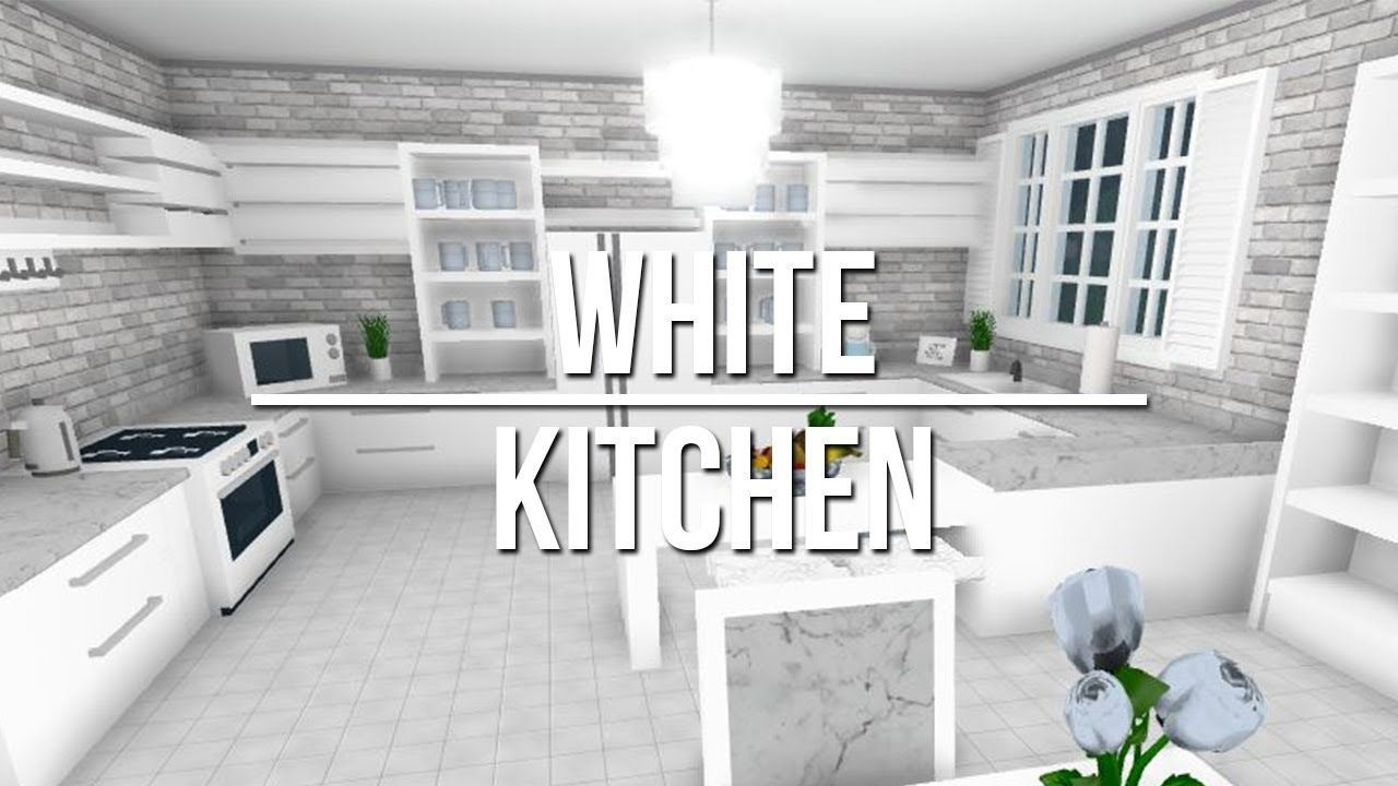 Roblox welcome to bloxburg white kitchen home interior ideas for living room also rh pinterest