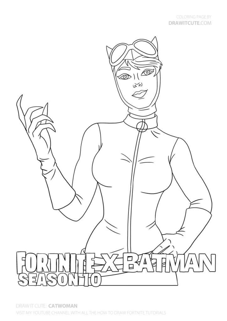 Catwoman Fortnite X Batman Coloring Page Color For Fun Catwoman Batmanedit Batmanfan Batmanxfortnite Batman Coloring Pages Catwoman Cute Coloring Pages