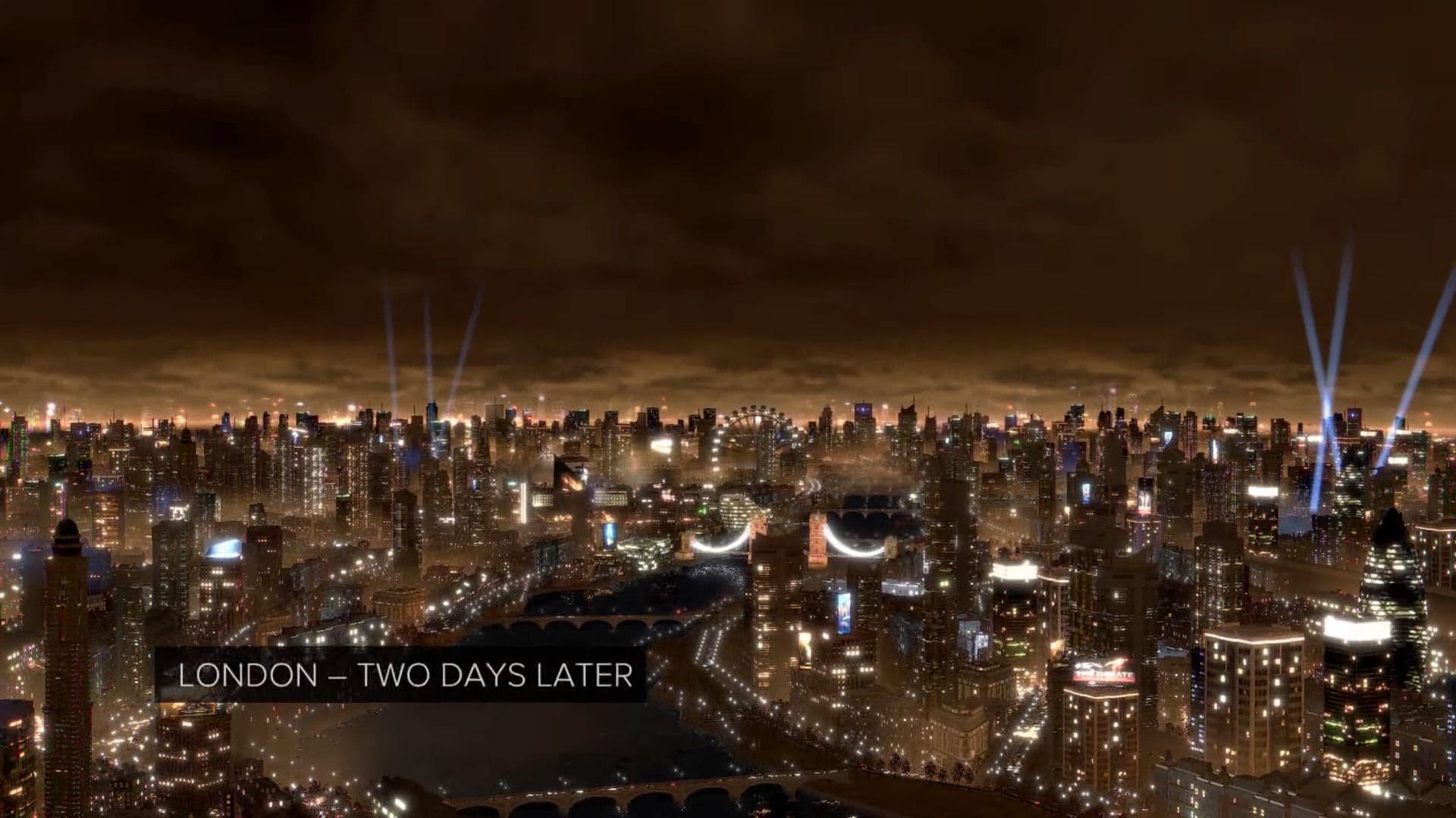 Deus Ex: Mankind Divided - локация Лондон.