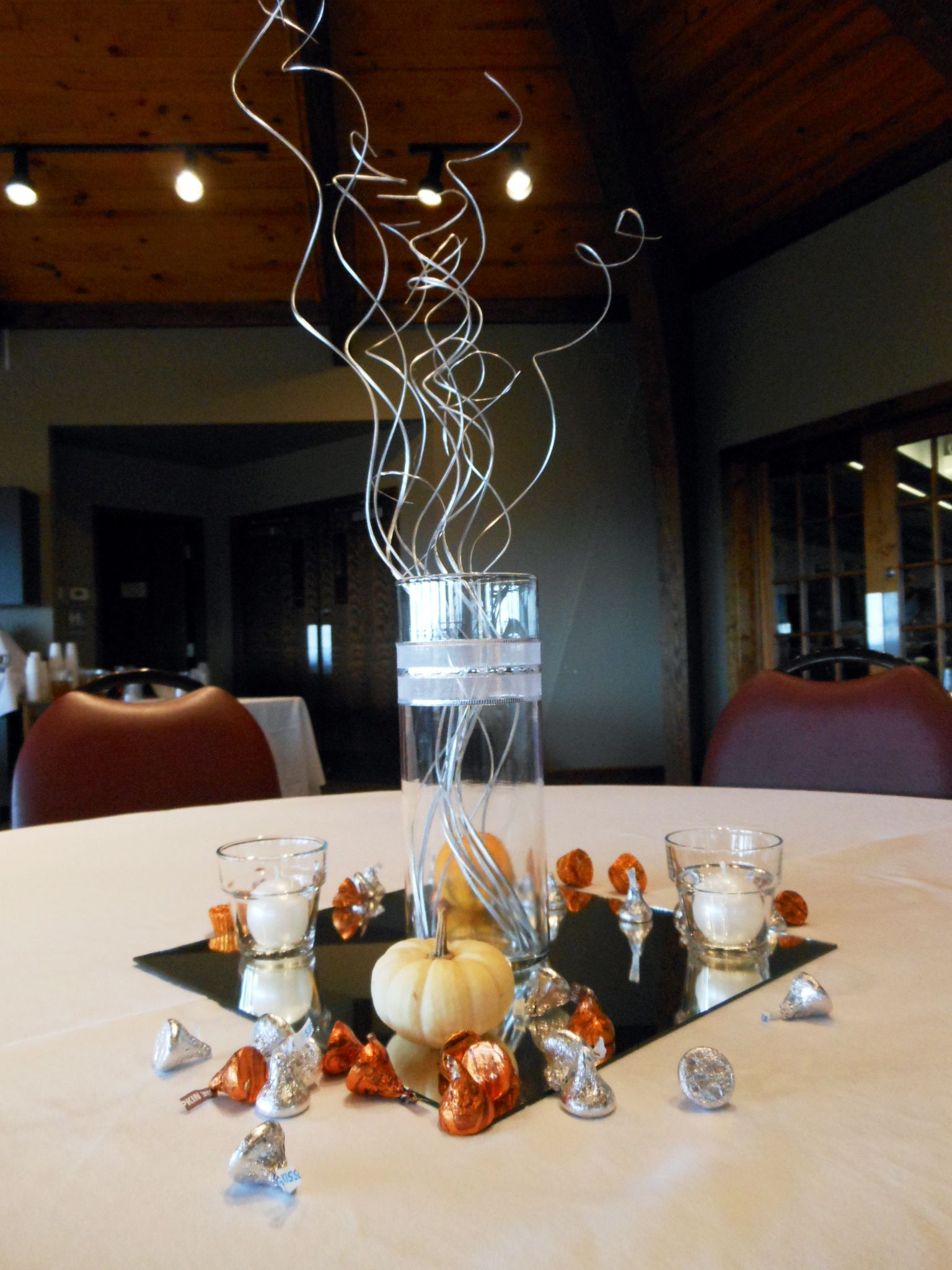 10th Wedding Anniversary Decor Ideas Table Centerpieces 25th