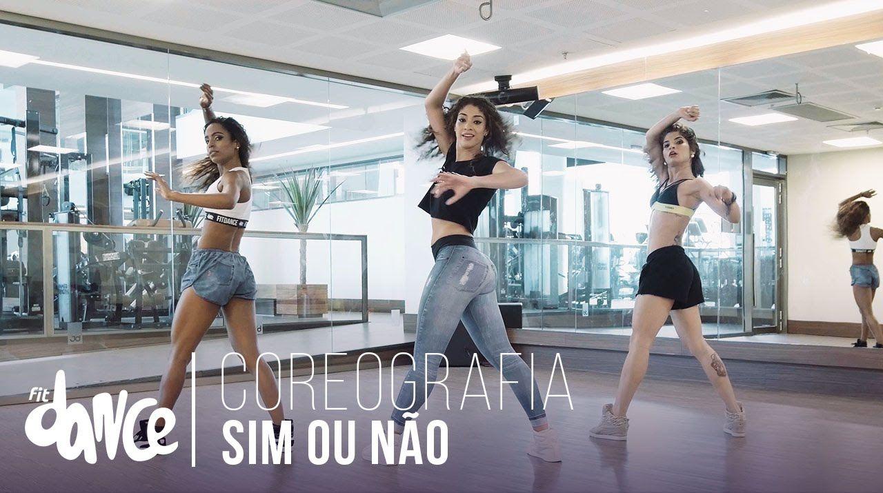 Sim Ou Nao Anitta Ft Maluma Coreografia Fitdance 4k