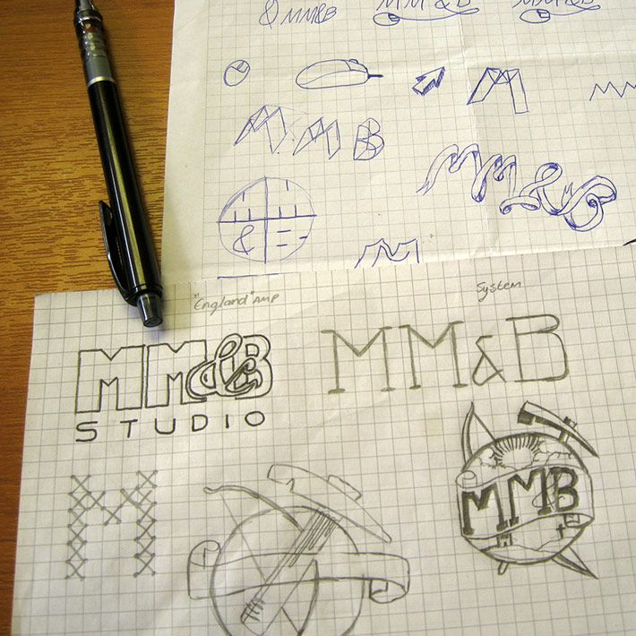 A quick look at the design process of our logo.