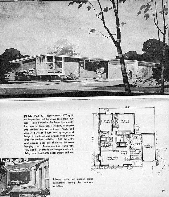 1963 Hayden Homes plan P 416