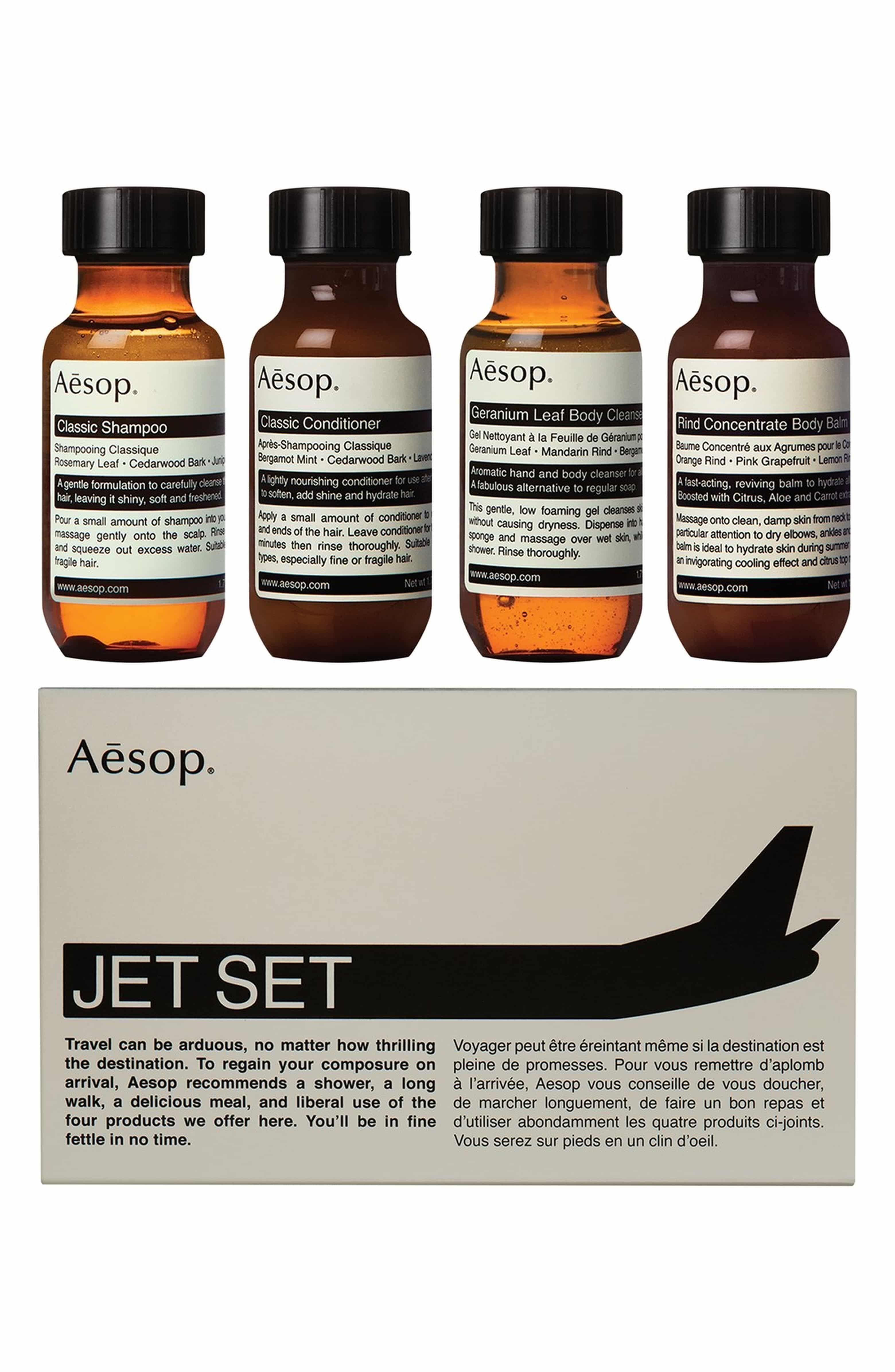 Aesop jet set travel kit jet set aesop travel size