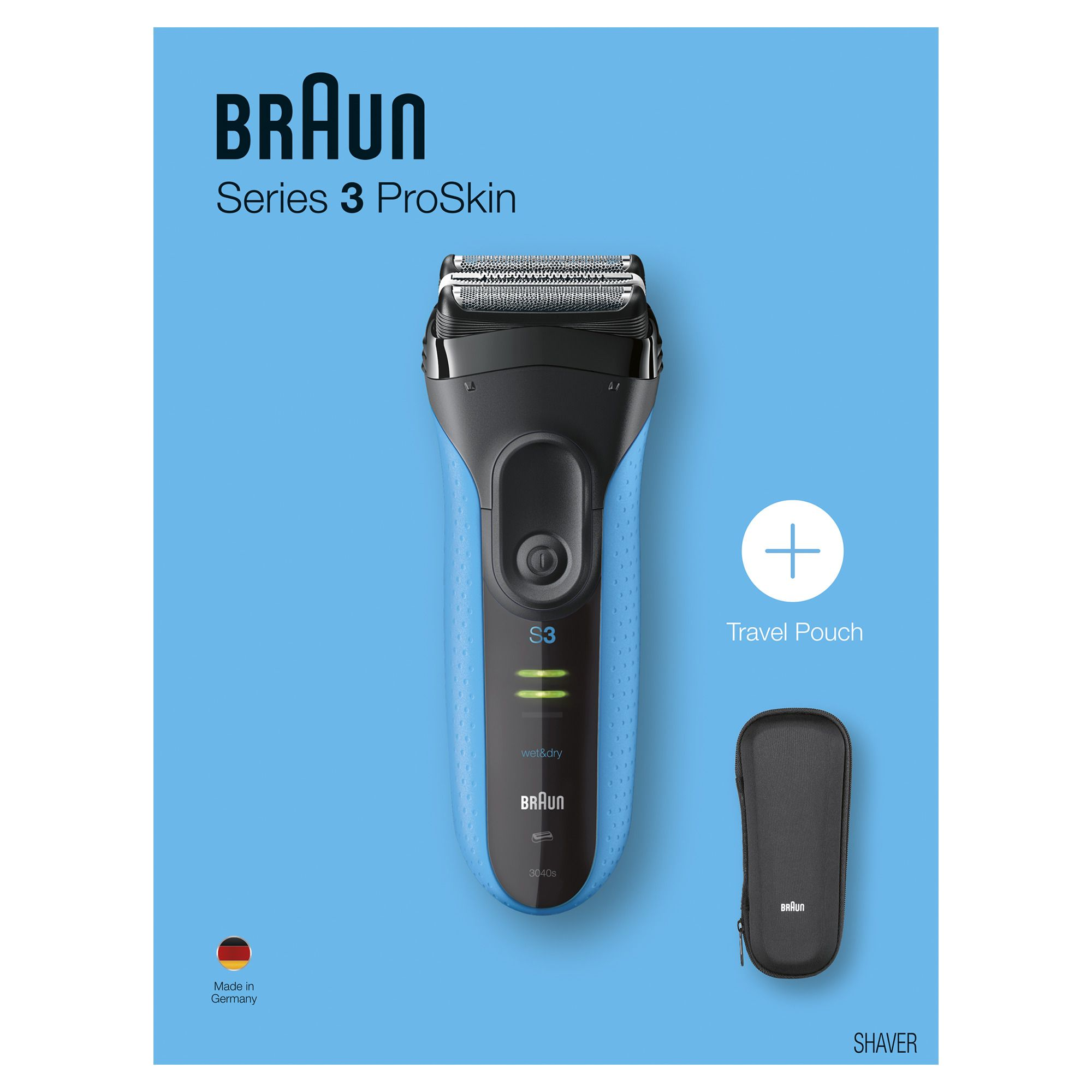 Braun Series 3 Proskin 3040s 10 Mail In Rebate Available Wet Electric Shaver Men Electric Shaver Electric Razor