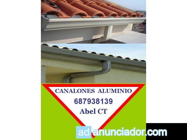 Canalones aluminio cartagena torre pacheco la manga san - Canalon aluminio precio ...