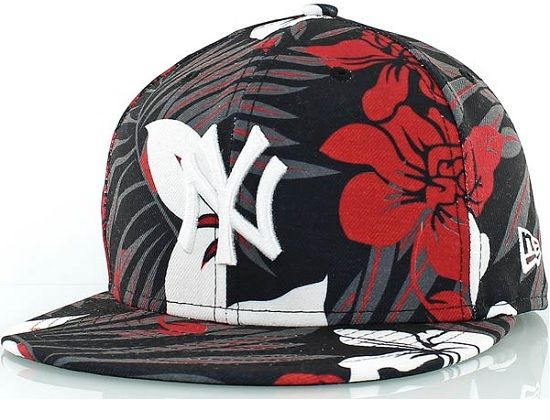14650fa83196f NEW ERA x MLB「New York Yankee Floral」59Fifty Fitted Baseball Cap ...