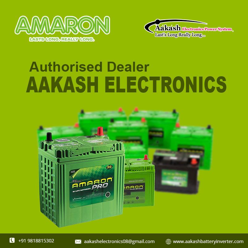 Aakash Electornics are one of the authorised dealer amaron