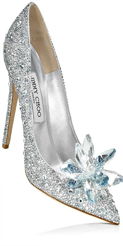 Jimmy Choo Cinderella Glass Slipper Interpretation Jimmy Choo Heels Wedding Shoes Crazy Shoes