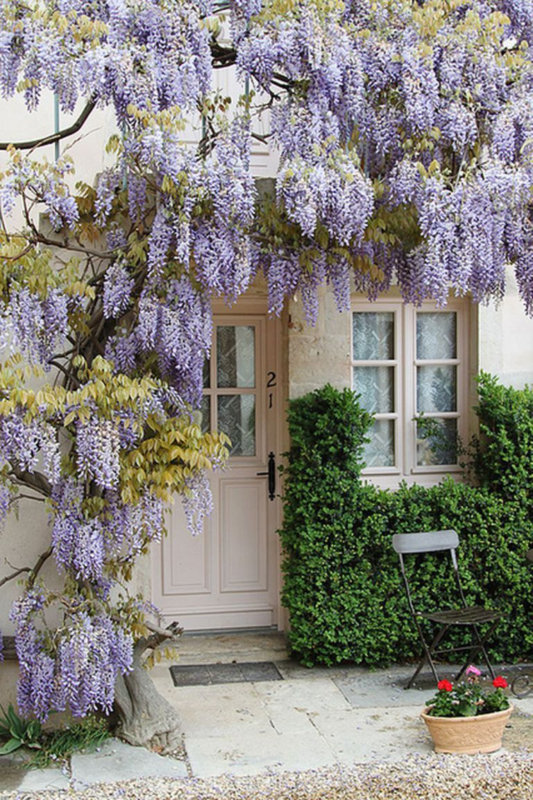 68 Beautiful French Cottage Garden Design Ideas French Cottage