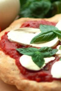 Margherita Pizza, because fresh simple ingredients are what eating Italian is all about!