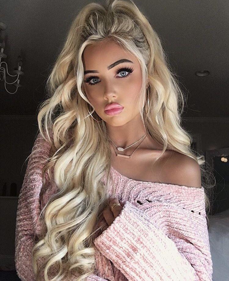 of barbie blonde beauty