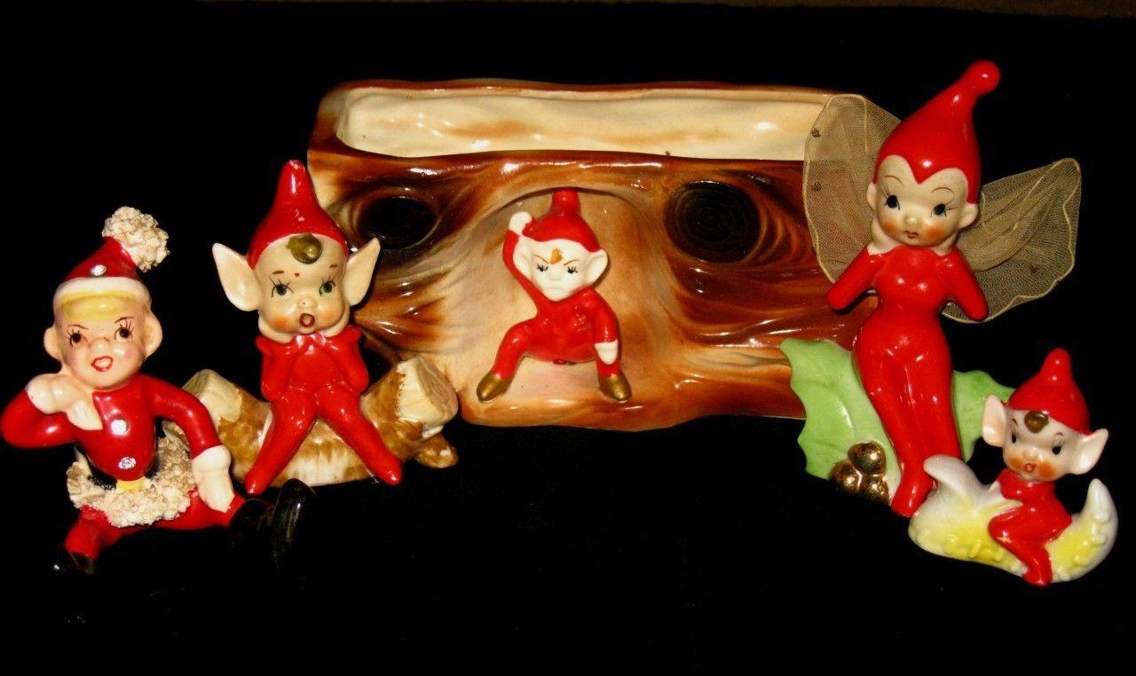 vintage christmas pixie