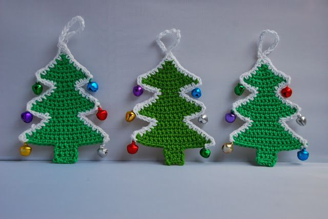 Free Christmas Trees Crochet Patterns Padroes De Crochet Natal Decoracoes De Natal Croche Arvore De Croche
