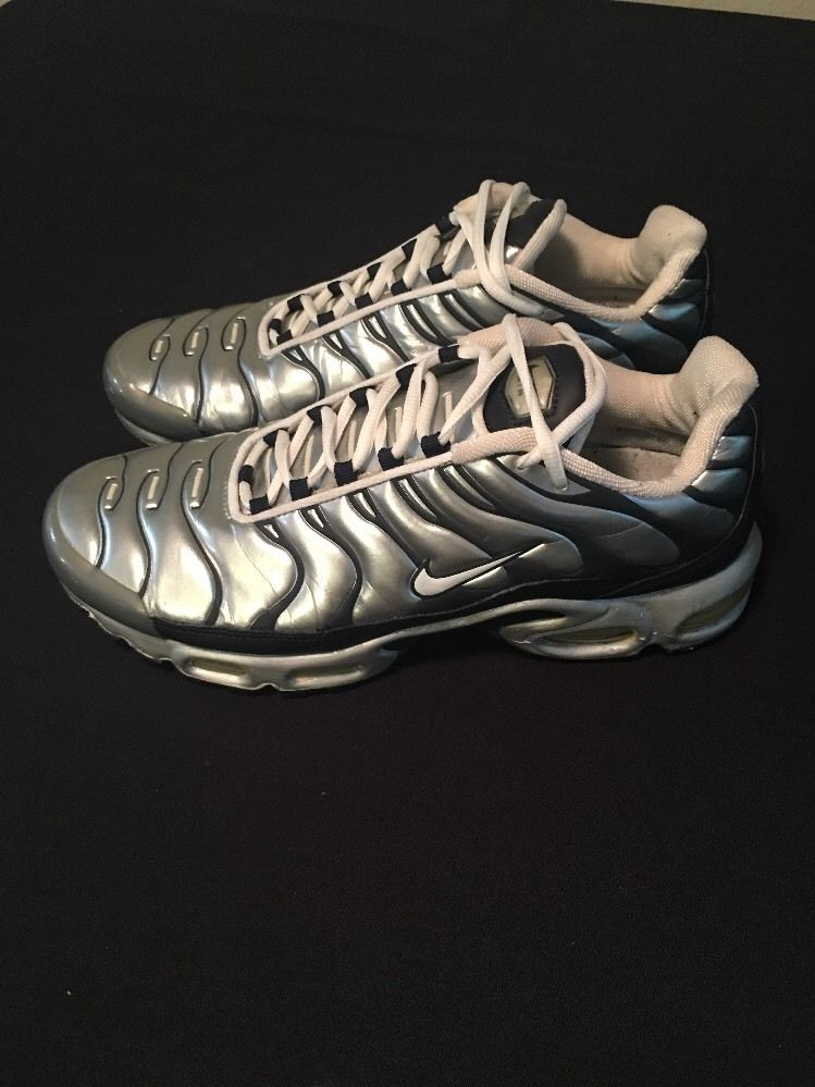 72a4562aaa 2001 Nike Air Max Tn Plus Silver Mens Sz 10 Preowned   Common ...