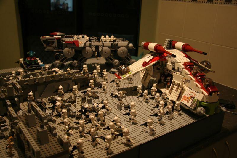 Lego Battle Moc Lego Star Wars Moc Legos Lego Star Wars Star