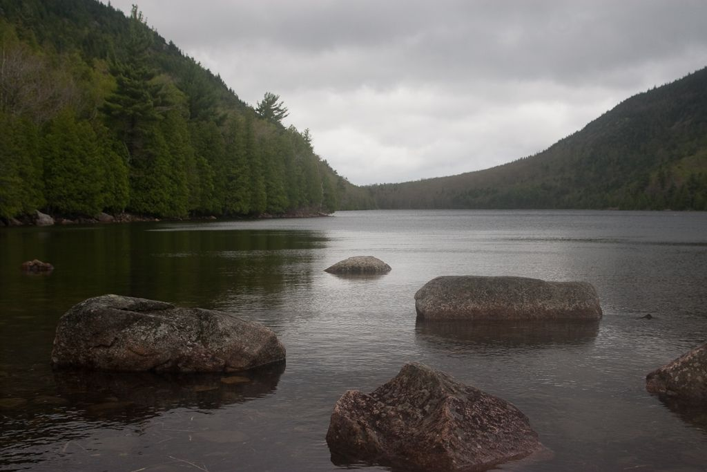 Bubble Pond, Acadia National Park, Mount Desert Island, Maine