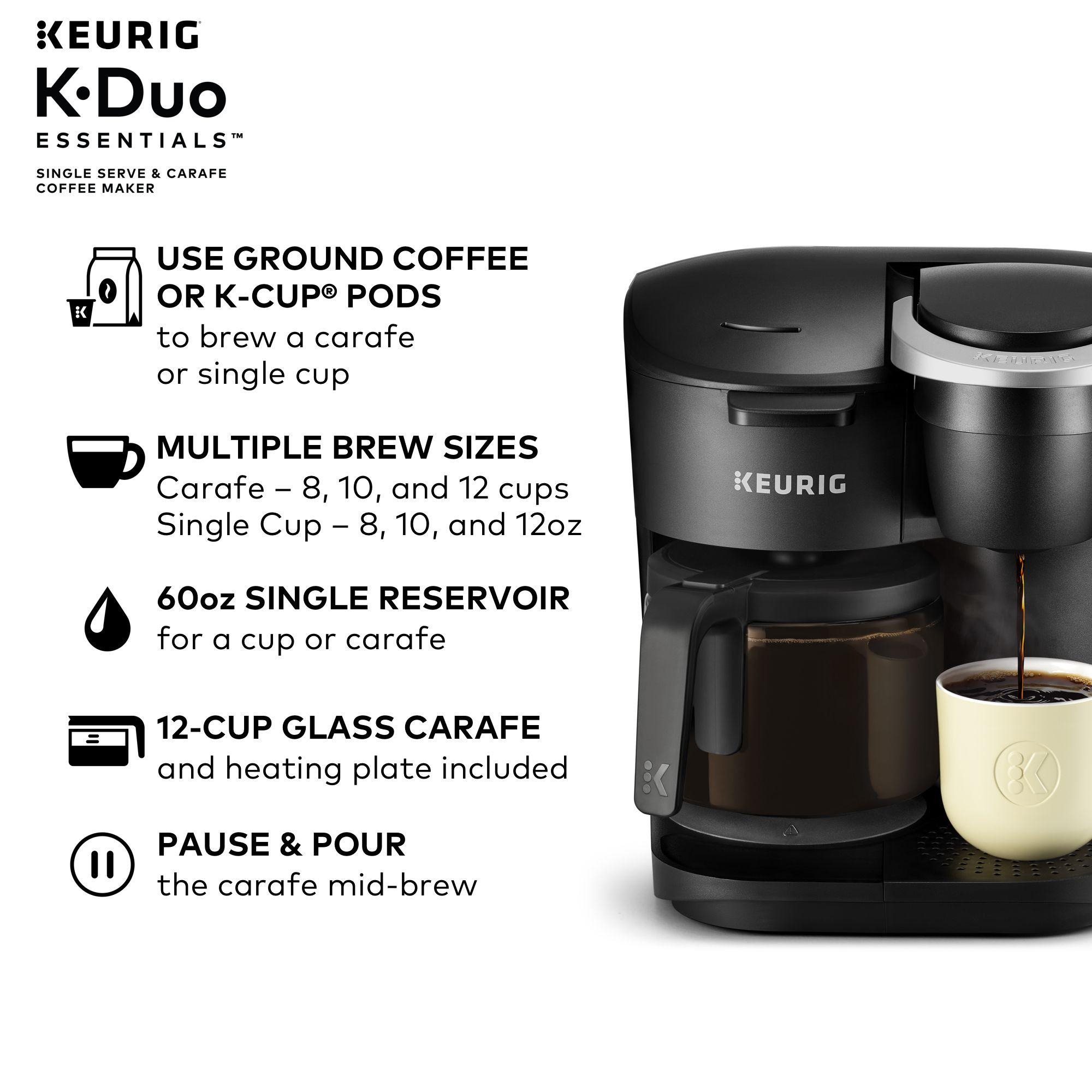 Keurig K Duo Essentials Coffee Maker Replacement Carafe in