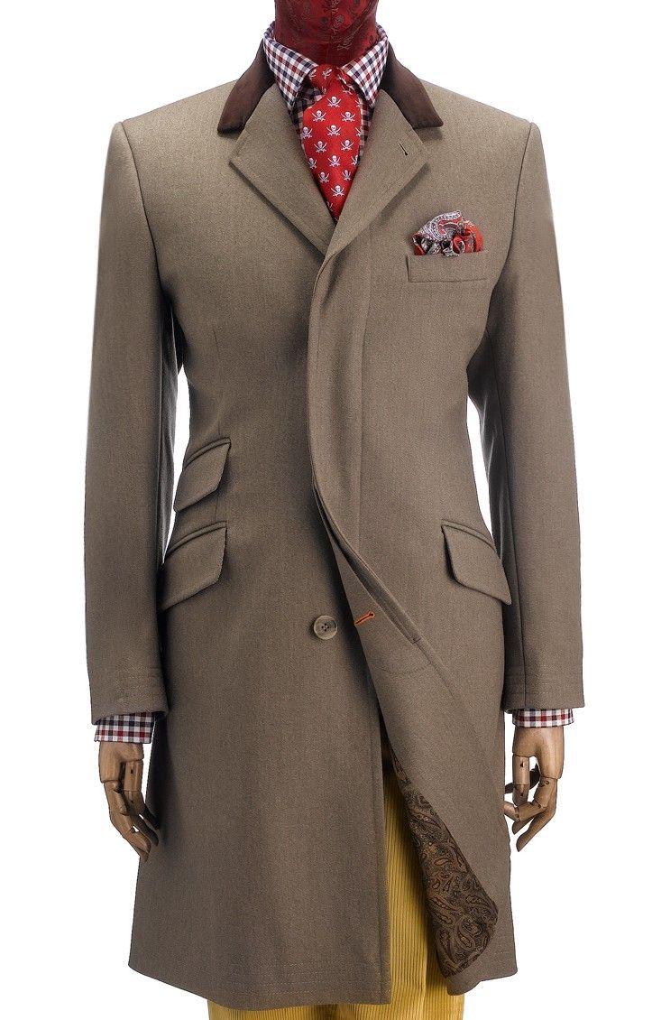 Covert Coat Well Dressed Men Mens Outfits Mens Attire [ 1130 x 723 Pixel ]