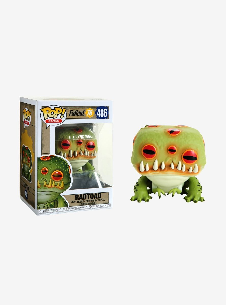 Funko Fallout 76 Pop! Games Radtoad Vinyl Figure | Products
