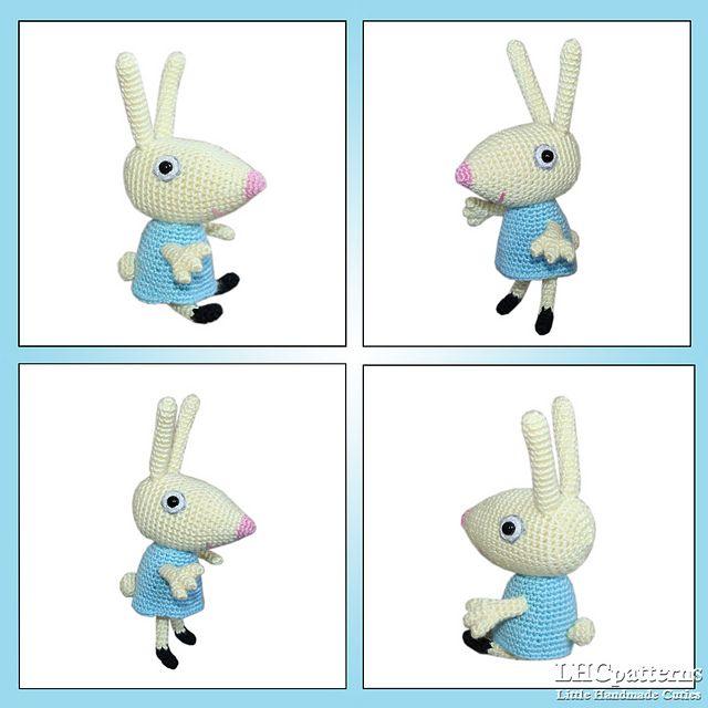 Rebecca Rabbit pattern by Kristine Kuluka