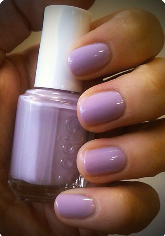 Essie Nice is Nice Nail Polish, love love love beautiful lilac color ...