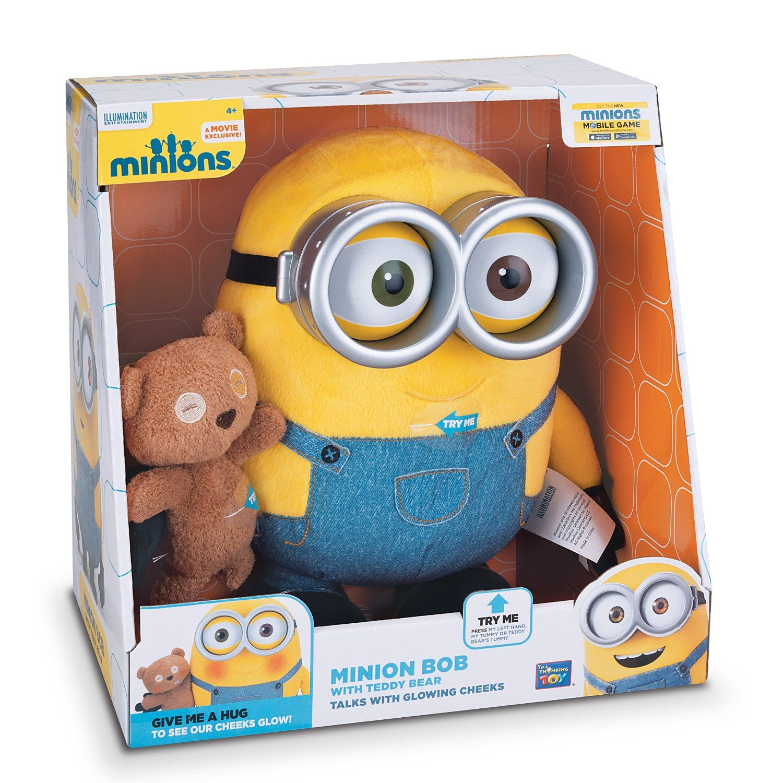 amazon minions bob with teddy bear toys  games