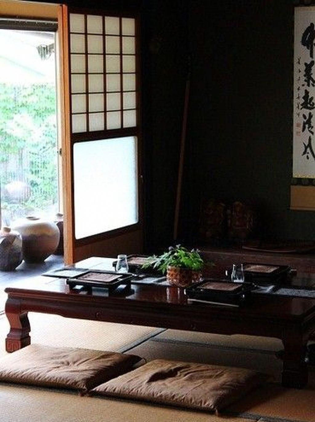 Table À Manger Japonaise 47 relaxing japanese style living room decoration ideas