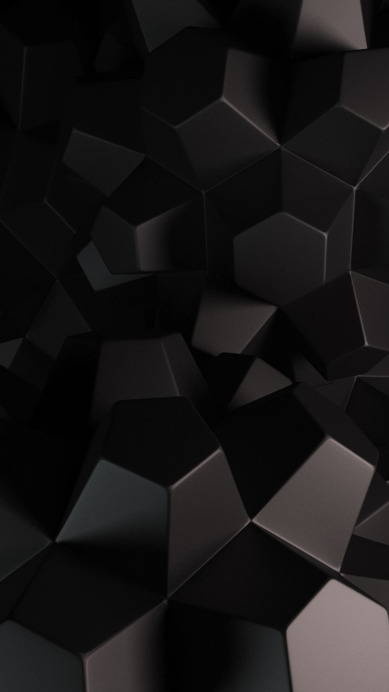 Dark Abstrack Hd Design Wallpapers Ultrahd Iphone Android Backgrounds Black White 4k Hexagon Wallpaper Htc Wallpaper Iphone Wallpaper