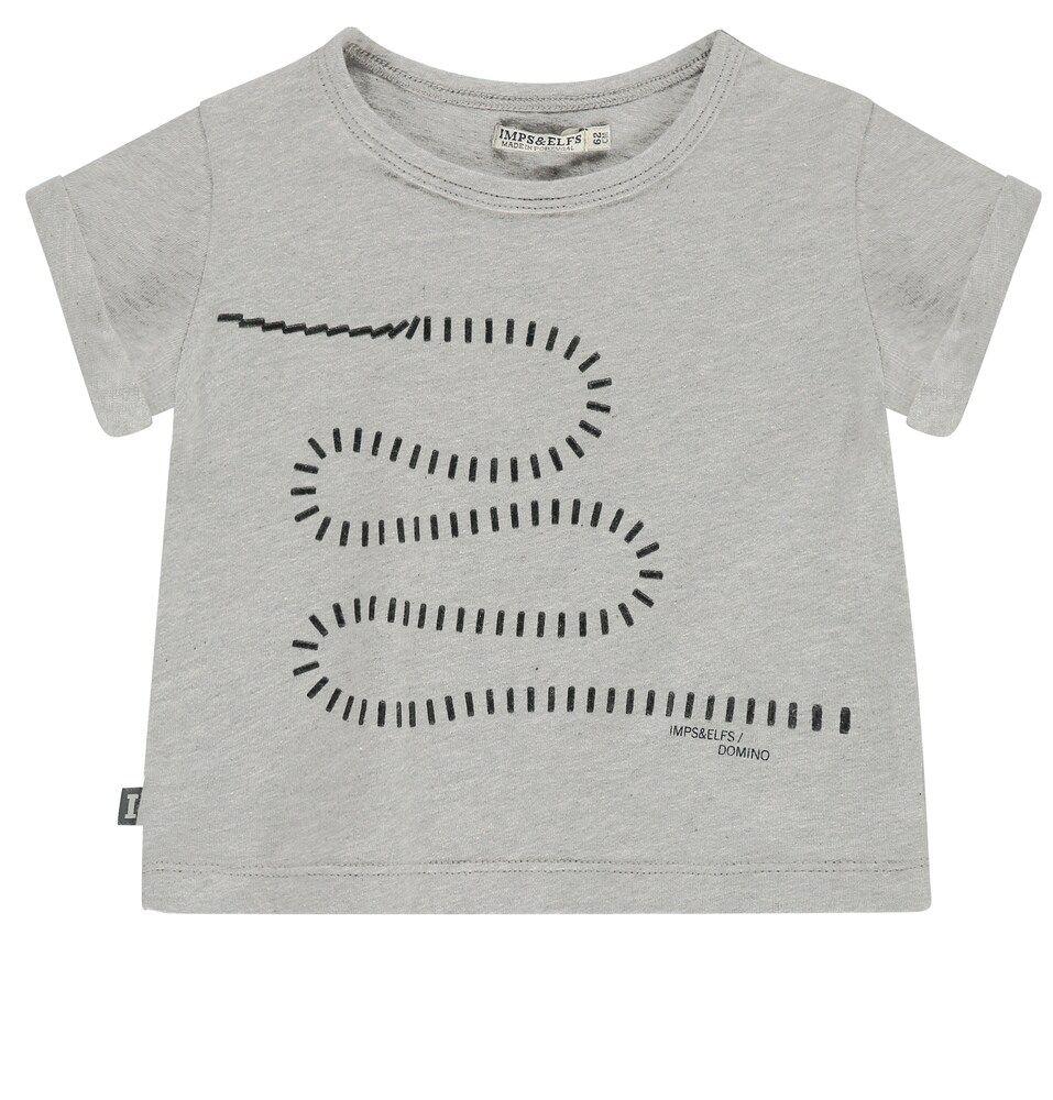 IMPS&ELFS T-shirt in grau
