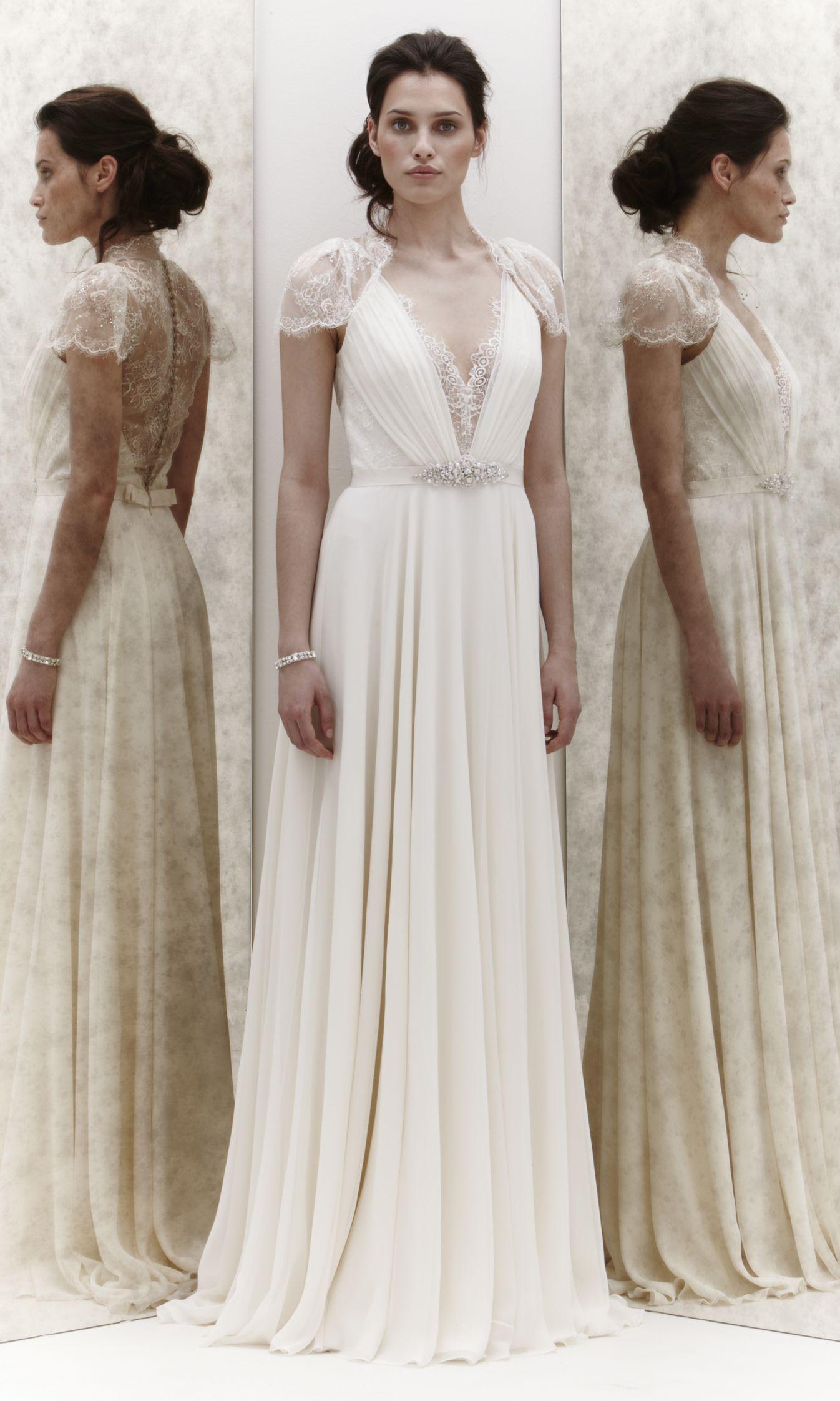 More Modest Version Jenny Packham S Dentelle Aspen Dress Google Search Vintage Lace Weddings
