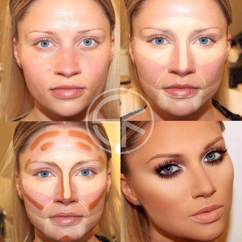 Contour makeup by Alejandra Campos on Makeup Makeup tips