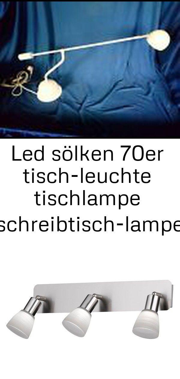 Led sölken 70er tisch-leuchte tischlampe schreibtisch-lampe büro leselampe #beleuchtung 3 #afrikanischerstil