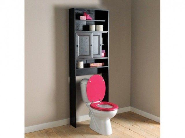 Meuble rangement toilettes la redoute les wc pinterest for Meuble toilette wc