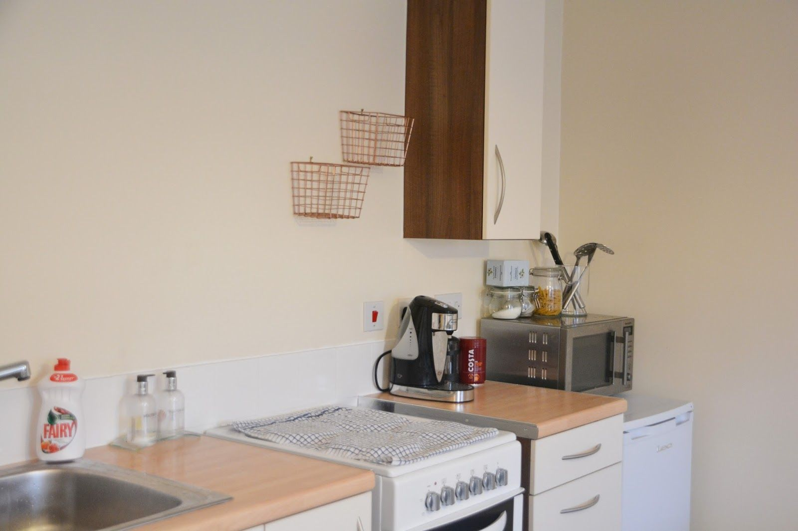 My Kitchen Makeover With D-C-Fix Part 1- From The Begining ...