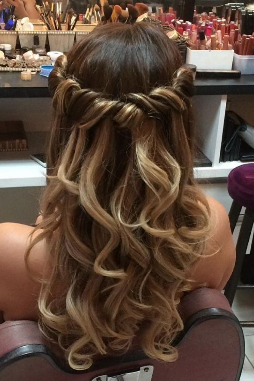 11 Cute Prom Hair Ideas You Will Fall In Love Hair Prom Brunette Long Hair Styles Prom Hairstyles For Long Hair Medium Length Hair Styles