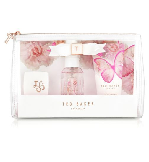 252daac39 Ted Baker White Mini Beauty Bag - Boots Ted Baker Makeup