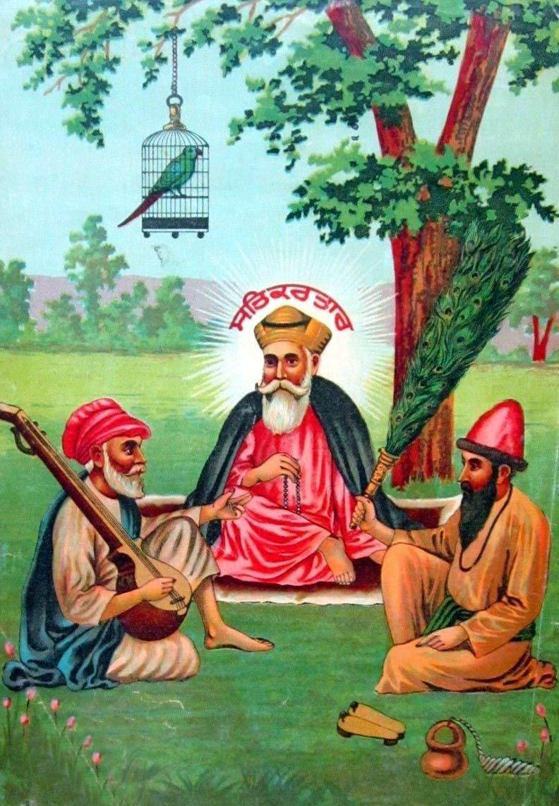 Guru Nanak Dev Nanak dev ji, Wine wallpaper, Vintage