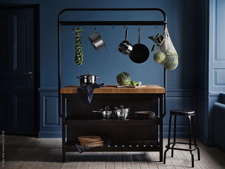 KUNGSBACKA klär i blått | IKEA Livet Hemma – inspirerande