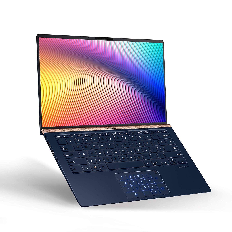 Amazon Com Asus Zenbook 14 Ultra Slim Laptop 14 Fhd Nano Edge Bezel 8th Gen Intel Core I7 8565u Processor 16gb Lpddr3 512g Asus Cheap Gaming Laptop Laptop
