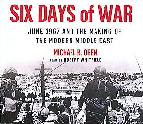 6-day war 1967..   excellent book, and written from a totally objective and unbiased perspective. Simply historical fact. Michael B Oren. He's a very gifted writer who really does his research.