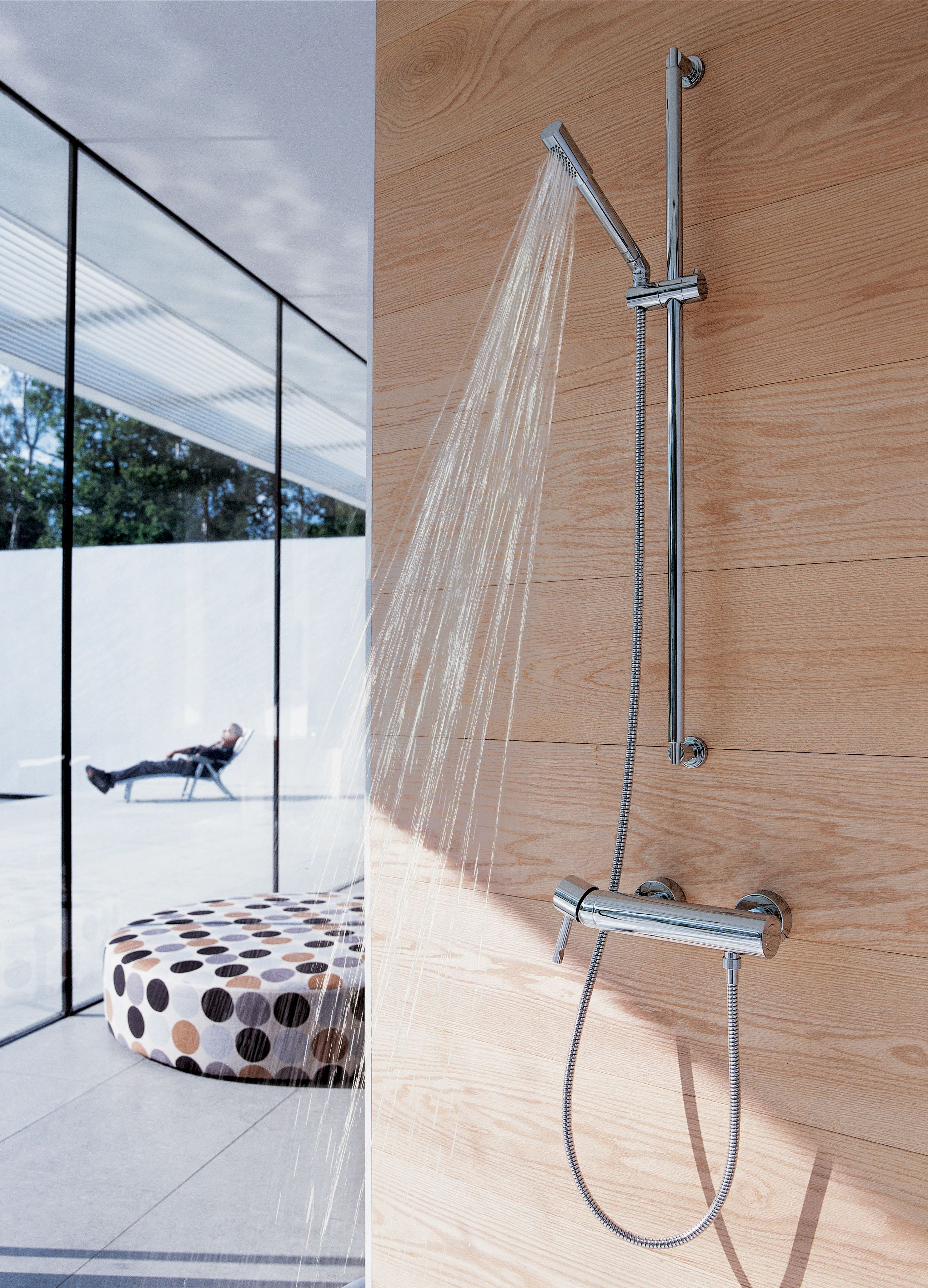 GROHE Sena : The Preferred Choice For Architectural Space #bathroorm #shower  @GROHE