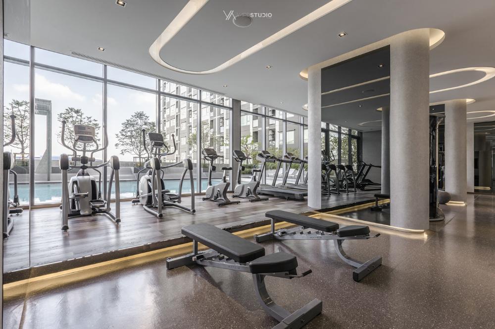 Aspire Sathorn Ratchapruek On Behance Gym Design Interior Fitness Center Design Interior Design