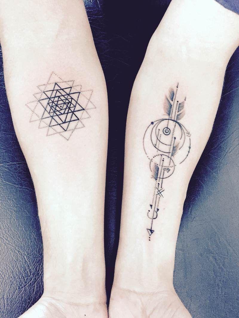 tatouage avant bras signification profond tatua. Black Bedroom Furniture Sets. Home Design Ideas