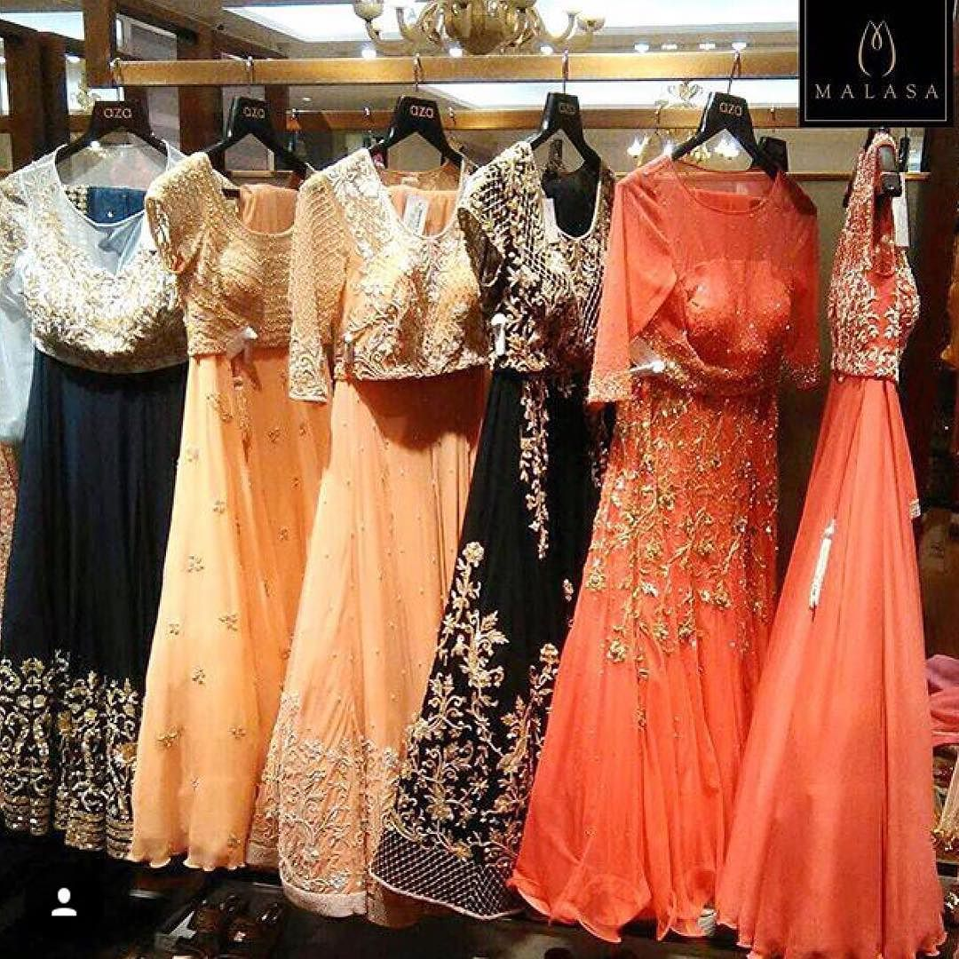 #chic #lehengas by @malasaofficial