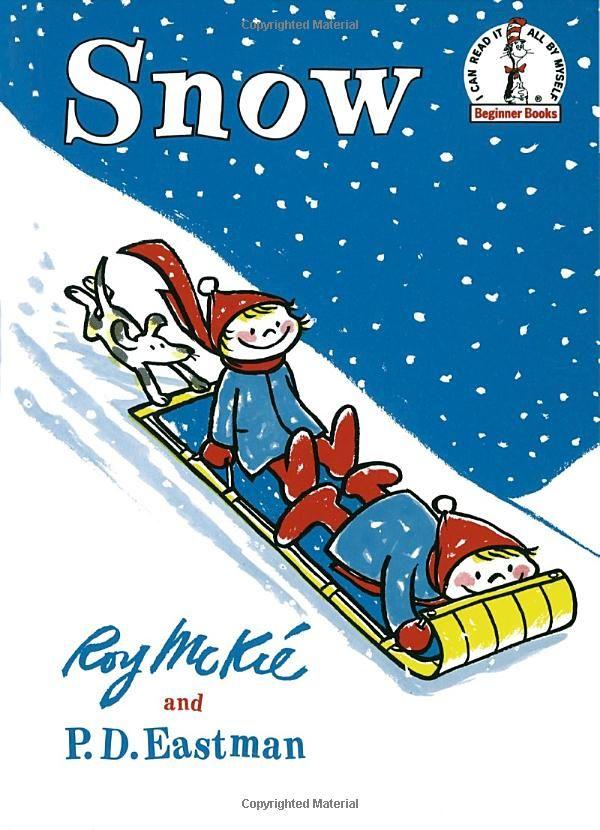 Snow (I Can Read It All By Myself): P.D. Eastman, Roy Mc Kie: 9780394800271: Amazon.com: Books
