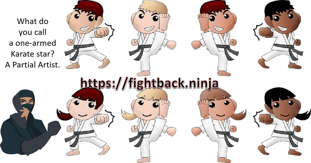 Karate Kids Karate Kid Fun Character
