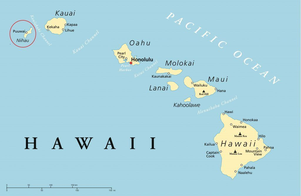 What You Dont Know About Niihau The Forbidden Island Of Hawaii - Hawaii world map