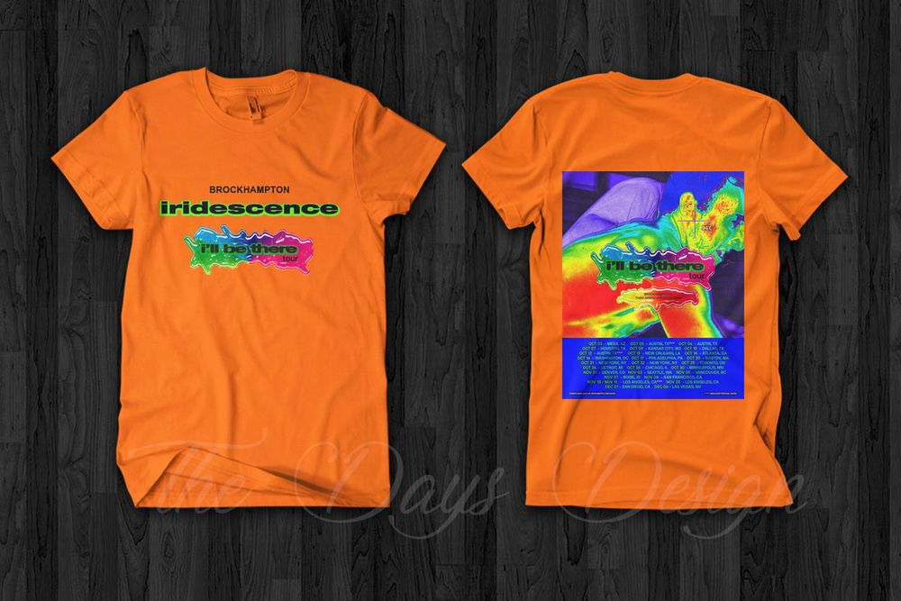 a650b98d977c Brockhampton Iridescence I'll Be There Tour Merch 2018 T Shirt Saturation  III2 #fashion #clothing #shoes #accessories #mensclothing #shirts (ebay  link)