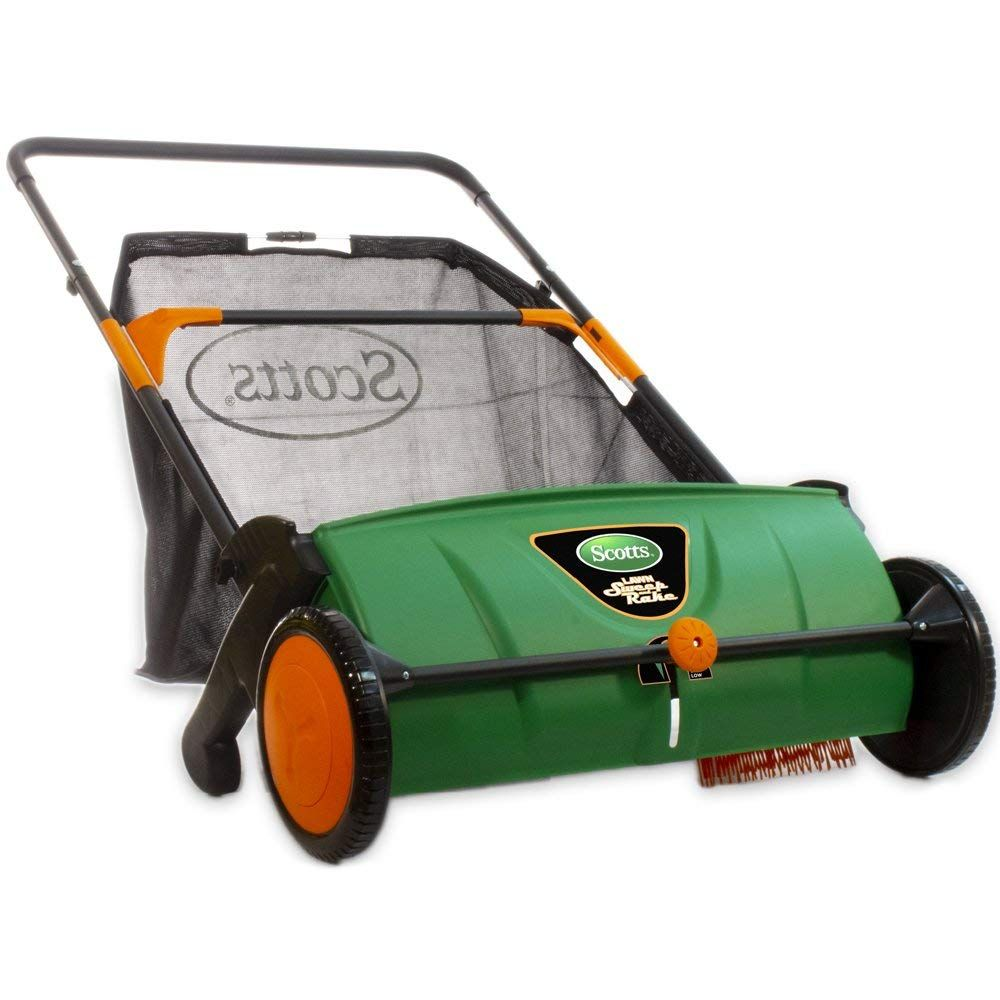 Scotts LSW70026S Push Lawn Sweeper, 26Inch